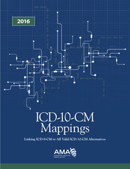 ICD-10-CM Mappings 2016: Linking ICD-9-CM to All Valid ICD-10-CM Alternatives, Use this resource to identify mappings of the most frequently used ICD-9-CM codes for your practice or facility to their corresponding ICD-10-CM.