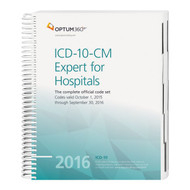 ICD-10-CM Expert for Hospitals 2016. The 2016 ICD-10-CM Expert for Hospitals featuring our hallmark color-coding and symbols reflecting the new ICD-10 MS-DRG reimbursement edits makes facing the challenges of the new code set and reimbursement system easier.
