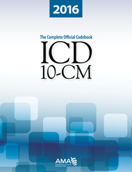 ICD-10-CM 2016: The Complete Official Codebook provides the entire code set for diagnostic coding. This codebook presents official government guidelines. Each of the 21 chapters is organized to provide quick and simple navigation of the text in order to facilitate accurate coding.