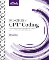 Principles of CPT® Coding, Eighth Edition. This best-selling resource is a comprehensive training and education textbook for the intermediate to advanced coder and health care professional. Principles of CPT® Coding is designed to supplement the CPT® code set and provide an in-depth guide for proper application of the CPT codes.
