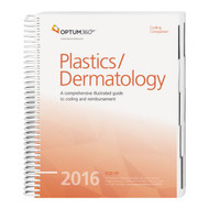Coding Companion for Plastics/Dermatology  2016. his comprehensive and easy-to-use guide includes 2016 CPT®, HCPCS, and ICD-10-CM code sets specific to plastic surgery and dermatology.