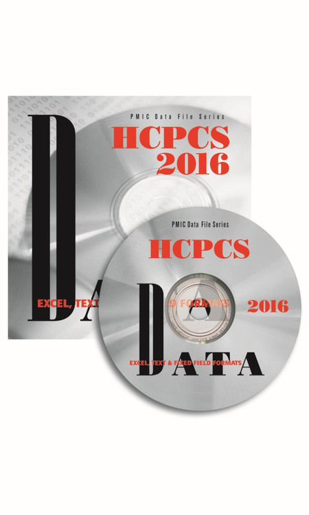 HCPCS 2016 CODES DATA FILES