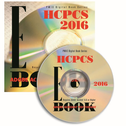 HCPCS 2016 e-BOOK CD