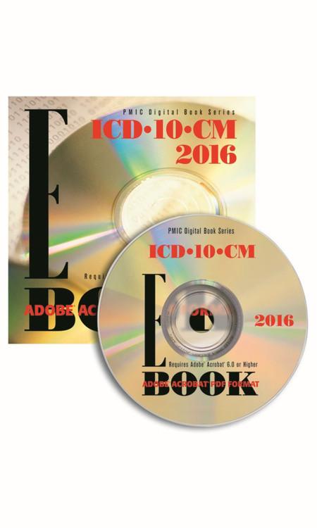 ICD-10-CM 2016 e-BOOK CD