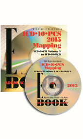 ICD-10-PCS 2016 MAPPING e-BOOK CD