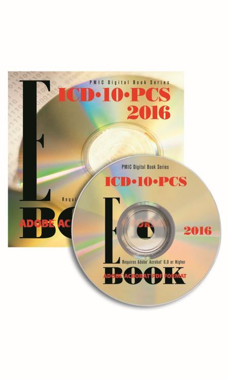 ICD-10-PCS 2016 e-BOOK CD