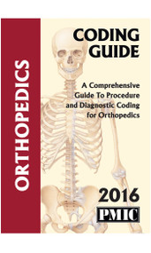 2016 CODING GUIDE ORTHOPEDICS