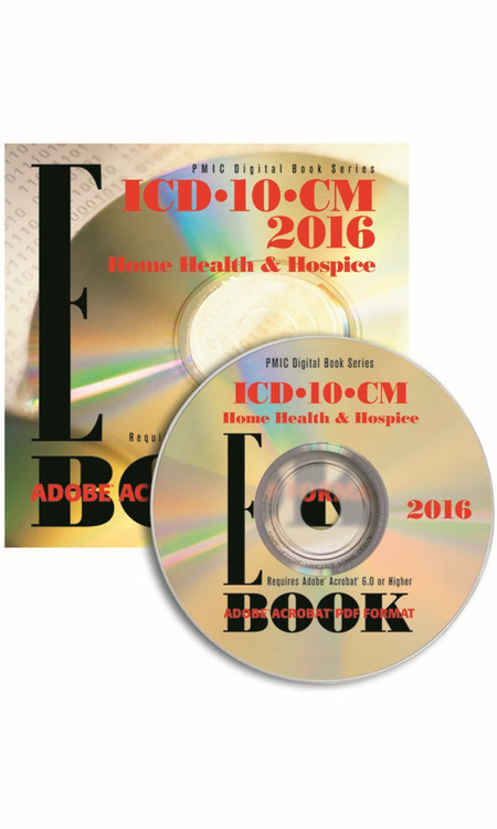 ICD-10-CM 2016 HOME HEALTH EDITION e-BOOK CD