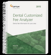 The Dental Fee Analyzer One Specialty provides dentists with a customized report for their specific geographic area and the CPT® codes most frequently used in their dental and/or OMS practice
