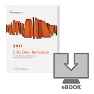 DRG Desk Reference(ICD-10-CM)gives access to crucial information to improve MS-DRG assignment practices, gives guidance on how to accurately assign DRGs under the MS-DRG system, and focuses on the Optimizing section of the DRG Desk Reference based on ICD-9 codes.