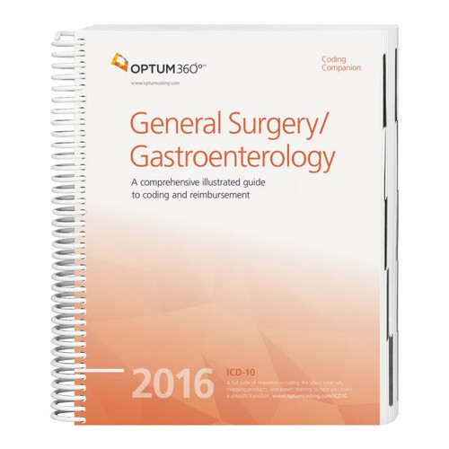 Coding Companion for General Surgery/Gastroenterology 2016. This comprehensive and easy-to-use guide includes 2016 CPT®, HCPCS, and ICD-10-CM code sets specific to general surgery and gastroenterology.