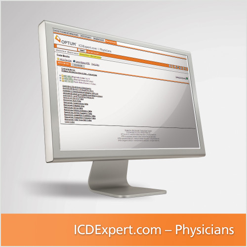 ICD Expert for Physicians gives providers direct access to all the Volume 1 ICD-9-CM and ICD-10-CM diagnosis codes, informative color-coded and specificity edits, and tables and indexes so you code confidently throughout the year. This valuable online solution delivers every description, guideline, and instruction in the Expert code book but in a more convenient format and just as affordable. Updated monthly, ensuring code descriptions and clinical information are always current, and helping you comply with HIPAA.  Use as a complement or replacement for your coding book.