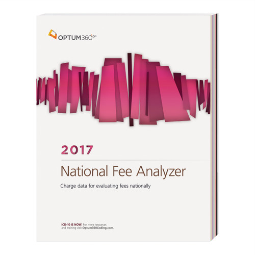 National Fee Analyzer provides physician practices with three percentiles of charge data and the average Medicare fee for fee schedule development, competitive analysis and contracting purposes. This comprehensive tool can help you estimate competitive fees and reimbursement for all areas of the country. A comprehensive introduction explains issues to be aware of to optimize revenue when coding, contracting, and evaluating and setting fee schedules.