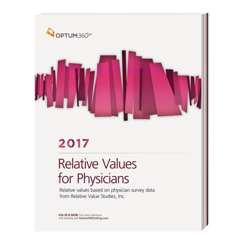 Relative Values for Physiciansis a complete relative value system established by national surveys of physicians in all specialties. With this tool you can establish, defend, and negotiate fees for medical and surgical procedures with the same relative values used by many insurance companies.