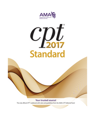 Correct reporting and billing of medical procedures and services begins with CPT® 2017 Standard Edition. The AMA publishes the only CPT® code book with the official CPT coding guidelines developed by the CPT Editorial Panel.