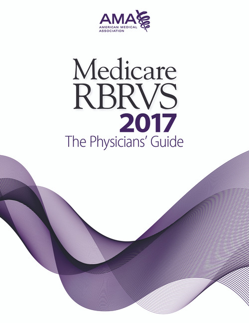 The 26th edition of Medicare RBRVS: The Physicians' Guide 2017 provides the much-needed updated information on the new 2017 Medicare Physician Payment Schedule, payment rules, conversion factor, CPT and HCPCS RVUs, and GPCIs that affect the physician practice.