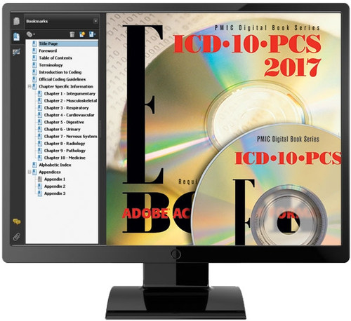 The PMIC version of ICD-10-PCS includes all official codes, descriptions, indexes and tables plus special features to help you code easier, better and faster.
