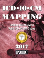 ICD-10-CM 2017 MAPPING BOOK - Contains Diagnosis Codes Explore the relationship between ICD-10-CM and ICD-9-CM Volume 1 codes for Physician coding