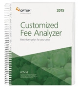The Customized Fee Analyzer provides physicians with a custom report for their geographic area and the CPT® codes most frequently used in their specialty