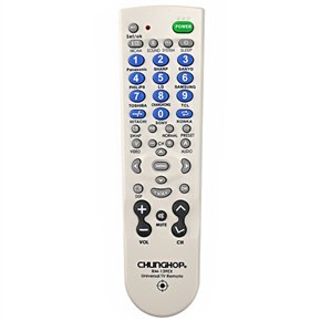 CHUNGHOP RM-139EX UNIVERSAL TV REMOTE