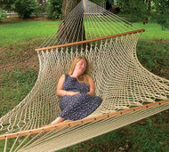 Silk-Spun Family Sized Rope Hammock