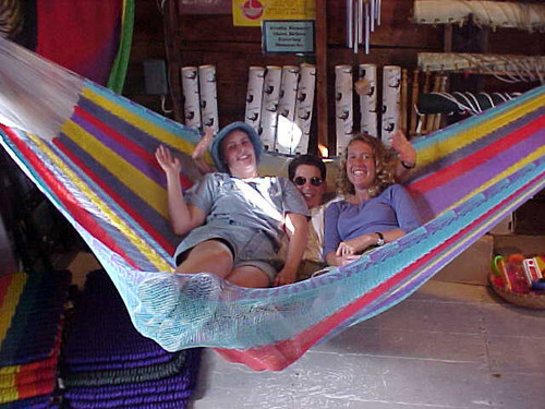 The worlds most comfortable hammock!