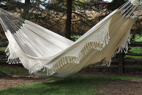 Beautiful, natural Brazilian Matrimonial Hammock