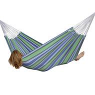 Beautiful, comfortable seaside cotton hammock!