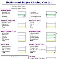 ezBuyer Closing Costs