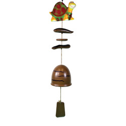 Turtle Wind Chime with Ceramic Bell