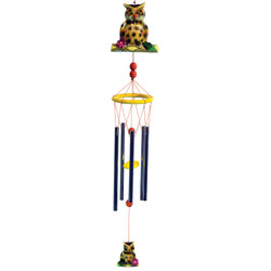 Spotted Owl Wind Chime