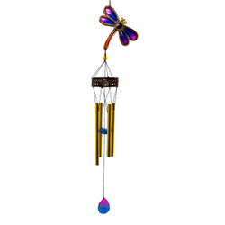 Good As Gold Poly Resin Wind Chime Collection Drangonfly
