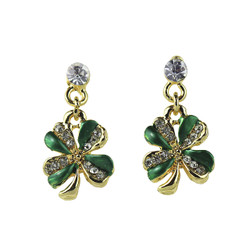 clover leaf earrings