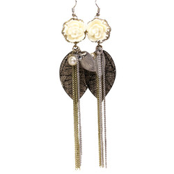 Rose Chandelier Earrings