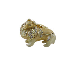 Collie Stretchy Ring Oversize