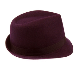 Fedora Hat Purple