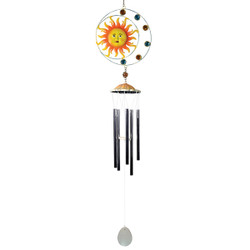 Sun Wind Chime Yellow
