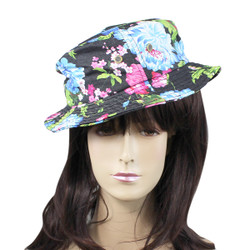 Fisherman's Bucket Hat Exotic Flowers