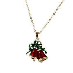 Holiday Bells Necklace