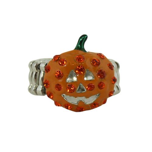 Halloween Pumpkin Bling Ring