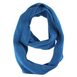 Cozy Solid Color Infinity Scarf Royal Blue