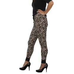 Trendy Harem Pants Leopard Pattern