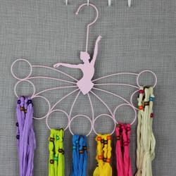 Ballerina Scarf Hanger with 6 Scarves Value Set
