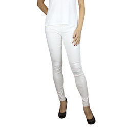 Colored Jeggings White
