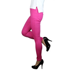 Colored Jeggings Hot Pink