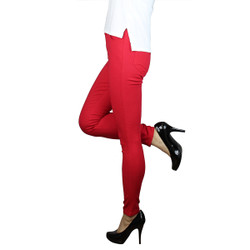 Colored Jeggings Red