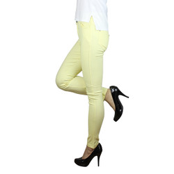 Colored Jeggings Yellow