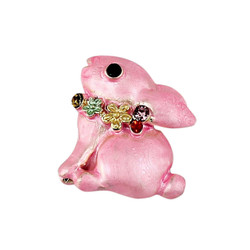 Easter Bunny Pin Pink