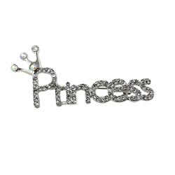 Princess Crystal Brooch