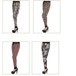 Pack of 4 Drawstring Jogger Harem Pants